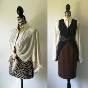 Vintage Deadstock 100% Artist blouse
